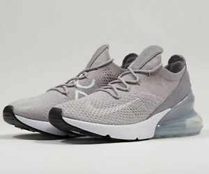 Details about Nike Air Max 270 Flyknit Uk 7 EUR 41 AH6803 002 PlatinumWolf Grey