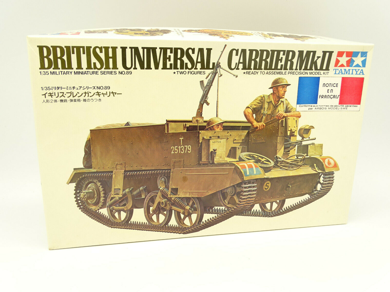 Tamiya Modellino 1/35 Militare Army - Britannici Universal Elemento Portante