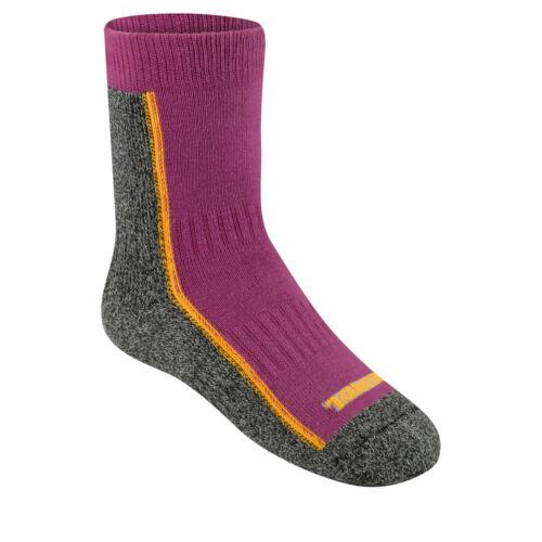 Meindl Trekking Junior Sock Kinder Funktionssocken 35-39, flieder//grau