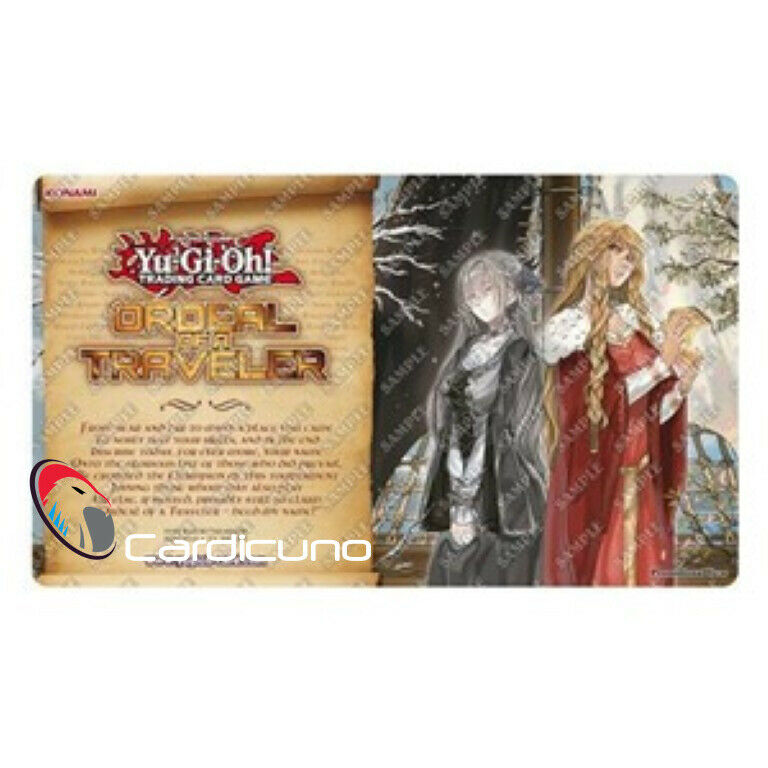 Ordeal of a Traveler Isolde, Two Tales of the Noble Knights Play Mat, YuGiOh