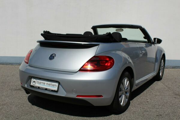 VW The Beetle 1,2 TSi 105 Design Cabriolet - billede 2