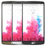 LG G3 VS985 32GB (Verizon) Smartphone Metallic Black, Silk White, Blaze Red