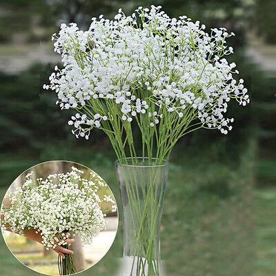 6pcs Gypsophila Artificial Fake Silk Flower Plant Home Party Wedding Decor New