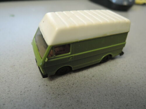 VW LT 1 Hochdach grün Herpa PKW Sammlung hier 100//150