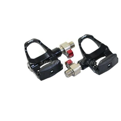 "Black Wellgo QRD-R096B 9//16/"" Quick Release Aluminum Clipless Pedals"
