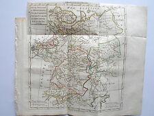 RUSSIE EUROPEENNE TARTARIE RUSSIENNE CARTE  ATLAS DELAMARCHE 1799