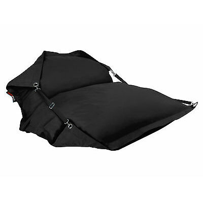 New BeanBag Soft Bed Outdoor Indoor Movie Camping Waterproof Cover BeanPod Black