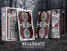 HellsGate Black Playing Cards