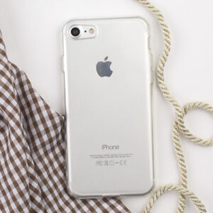 competitive price c3061 716cb Details about Clear Plastic Protect Case Cover Ipod iPhone 8 Plus X Case  For Apple 7 6 + 5 SE