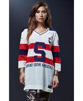 Women's Sweat Crew Hockey Jersey Shirt Women's Small