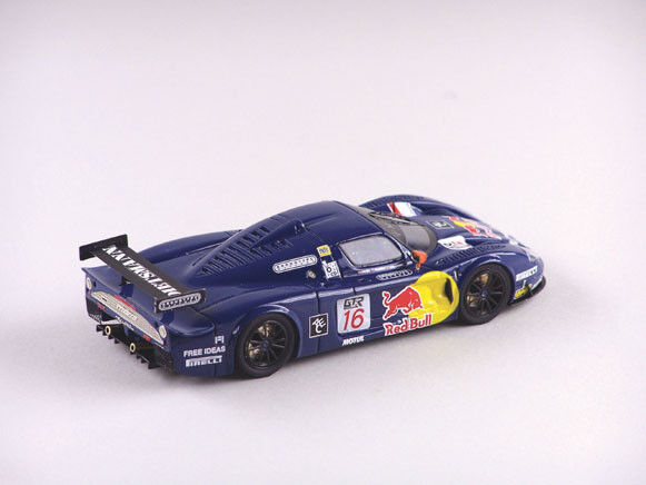 ABC 204r16 Maserati mc12 GT FIA 2005 Red Bull n.16 Magny Cours
