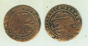 1/2 Batzen 1788. Canton Bern. Schweiz äSthetisches Aussehen