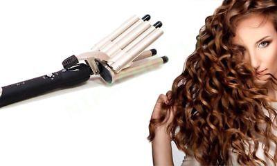 Piastra ferro onde capelli ondulati mossi 5 tubi SN 15