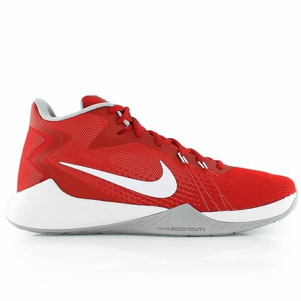 NEW Nike Zoom Evidence Game Men Basketball Shoes Sneakers Red Sz 10M Price reduction New shoes for men and women, limited time discount
