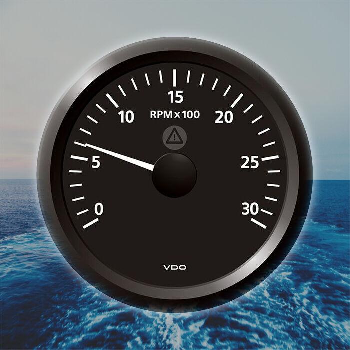 VDO Viewline Drehzahlmesser Stiefel Anzeige 3000 RPM 85mm 3