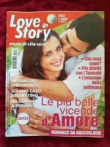 ITALIAN MAGAZINE LOVE STORY STORIE DI VITA VERA N 35 9/2020 EDIZIONI INTIMITA
