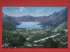 Kotor Cattaro Dalmazia Montenegro AK 1911 vecchia cartolina
