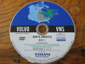 2002 2003 2004 2005 2006 Volvo XC90 S80 NAVIGATION DVD MIDWEST & NORTHEAST OEM | eBay