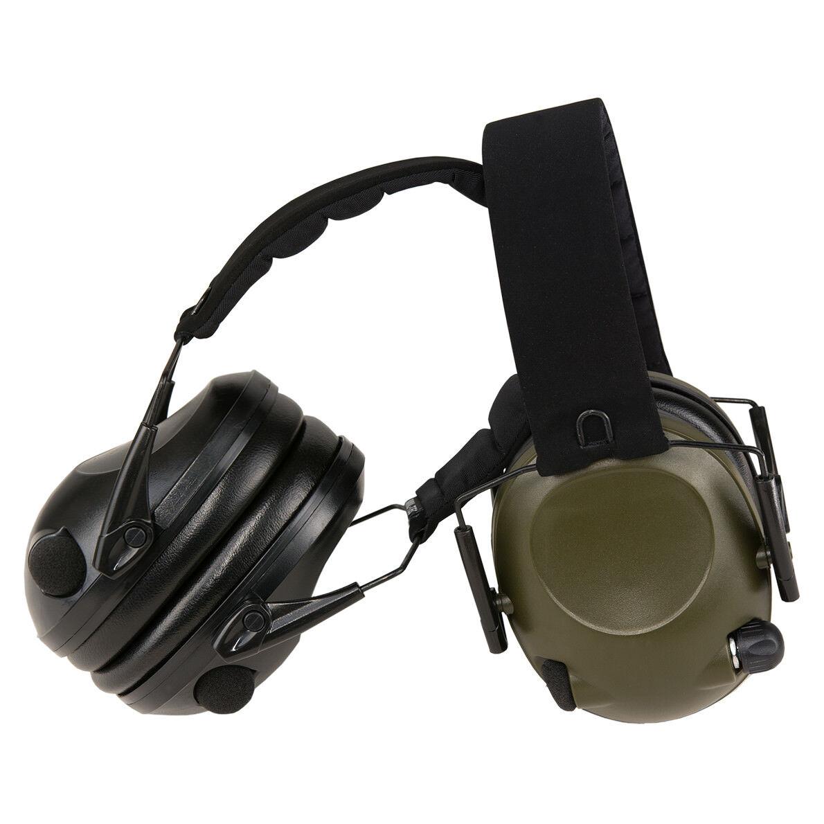 Mil-Tec Activo Predección Auditiva Cápsulas de Escuchar Entorno Aro Cabeza