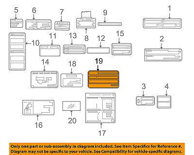 Auto Parts & Accessories Car & Truck Parts TOYOTA OEM 03-04 ... on car diagram without labels, car diagram with titles, car drawing with labels, car parts with labels, car model with labels, motor car with labels, car diagram with parts labeled,