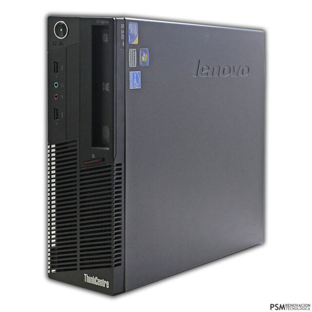 PC Lenovo THINKCENTRE M90P INTEL CORE I5 650 3.20GHZ 4GB DDR3 320GB DVDRW W7 B62