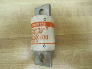 Gould/Shawmut A25X100 Amp-Trap Type 4 Fuse (Pack of 3)