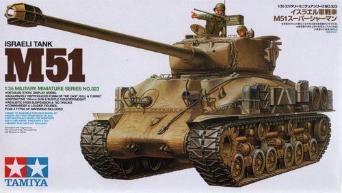 1 35 TAMIYA KIT voitureRO ISRAELI  TANK M51 SHERhomme  ART 35323  promotions promotionnelles