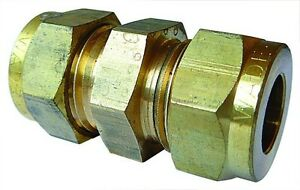 Equal Ended Bulkhead - WADE Imperial Compression Fitting