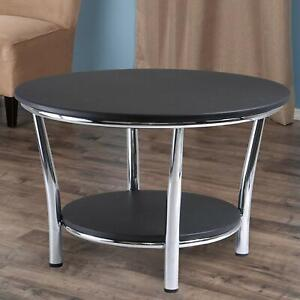 Maya Coffee Table.Details About Coffee Table Winsome Wood 93230 Maya Occasional Table Black Metal