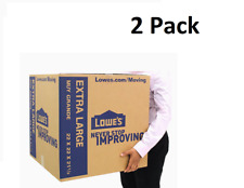 Extra Large Cardboard Boxes 22 X 22 Storage Moving Shipping Packing Pack Of 2