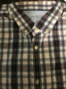 Banana-Republic-Slim-Fit-Short-Sleeve-Shirt-men