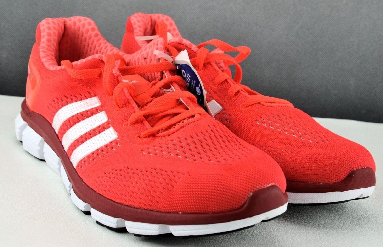 Brand New orange White Stripe Adidas Men's CC Ride Running shoes 10,5 US