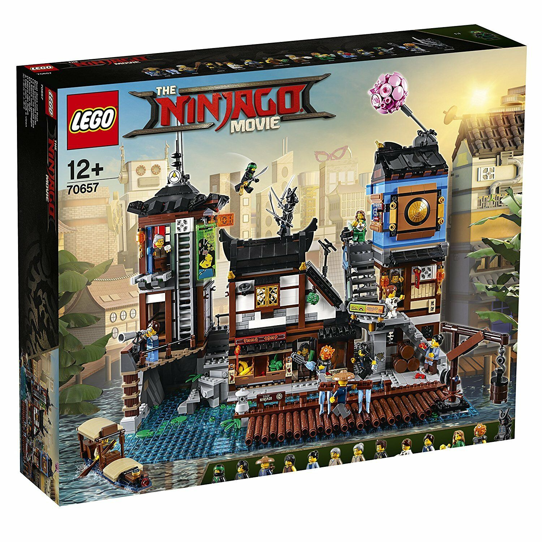 Lego Ninjago 70657 federn die Stadt von von von ninjago Neu und Sealed df0339