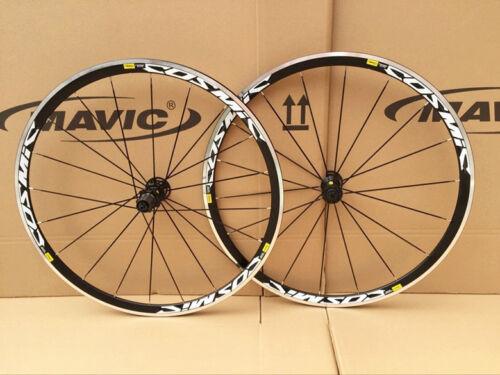 New Mavic Cosmic Elite Clincher Road Bike Bicycle 700c F/&R Wheels Wheelset