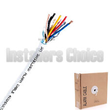 22/4 Gauge AWG 500ft Alarm Security Wire Cable Stranded Conductor ...
