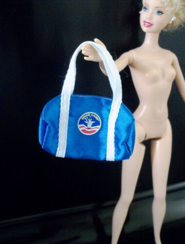 Barbie Doll Space Camp Bag Blue 1998 Astronaut Accessory, EUC Replacement