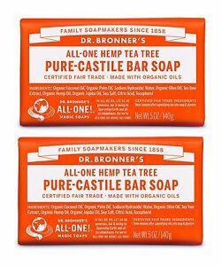 Dr-Bronners-Magie-commerce-equitable-PUR-Arbre-de-The-Savon-Castille-2-x-140g
