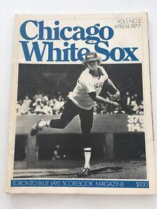 Vintage-1977-Toronto-Blue-Jays-Scorebook-Magazine-Program-Vol-1-No-2