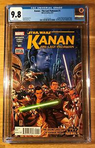 Star-Wars-Kanan-The-Last-Padawan-1-CGC-9-8-graded-NM-MT-1st-Sabine-Wren