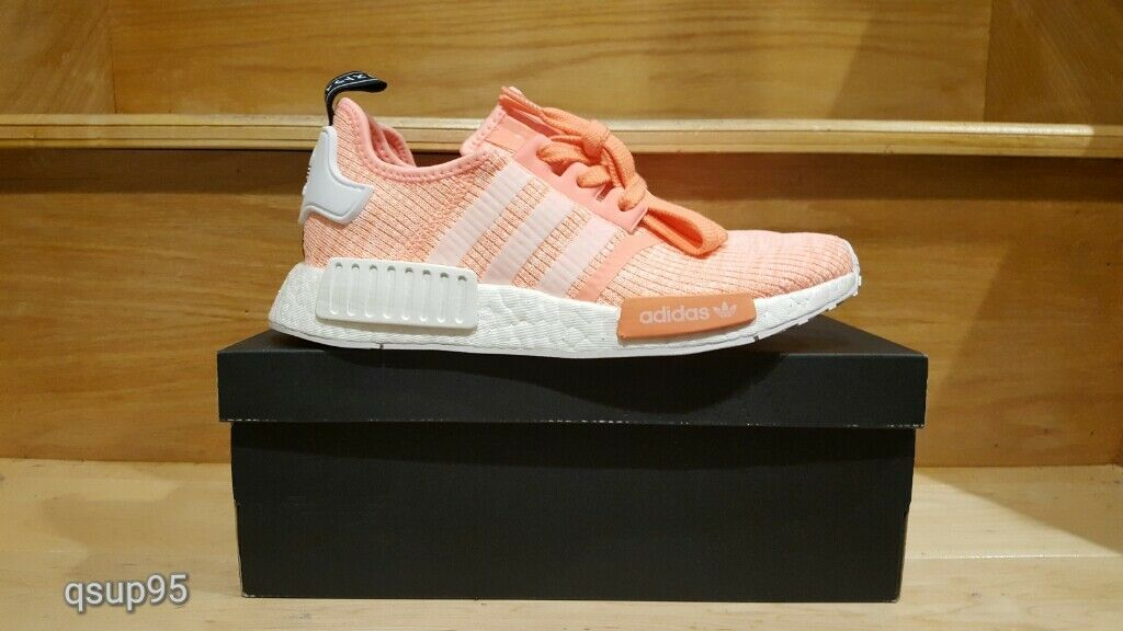 Adidas NMD_R1 Sun Glow Salmon Pink pink Peach BY3034 Womens WMNS Size 5-11