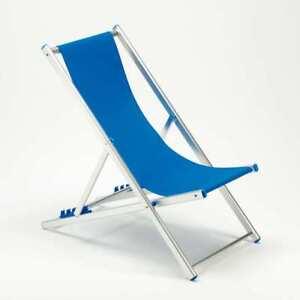 Sedie Sdraio Pieghevoli Alluminio.Sedia Sdraio Pieghevole Regolabile In Alluminio Da Mare Spiaggia