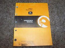 John Deere 450LC 450 LC Excavator Operator Owner User Guide Manual OMT185411
