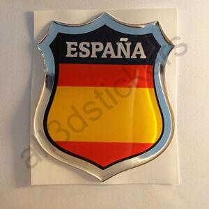 Pegatina-Espana-Emblema-3D-Relieve-Bandera-Pegatinas-Espana-sin-Escudo