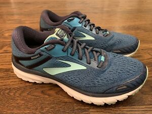 aa13b65a14a0b Brooks Adrenaline GTS 18 Running Shoes Women s Size 9.5 Navy Teal ...