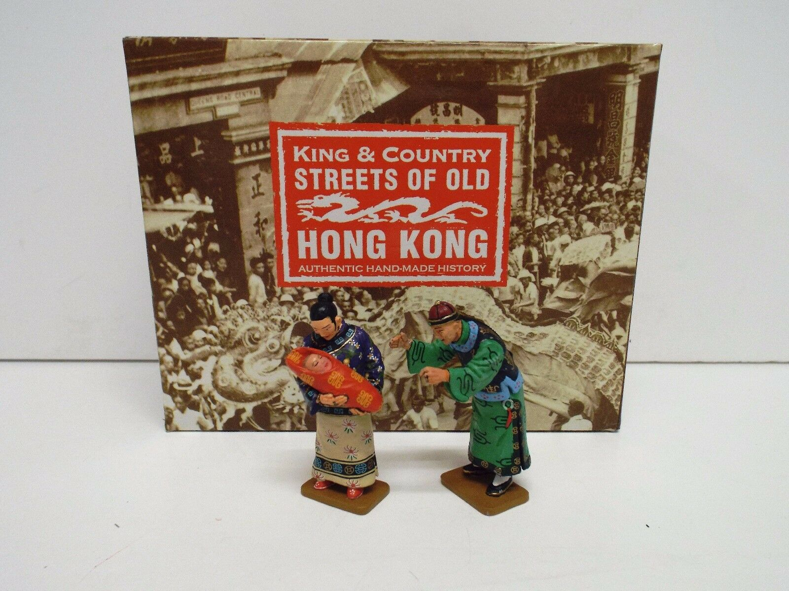 KING AND COUNTRY HK172M HK172M S.O.O.H.K HAPPY FAMILY SET RETIRED BOXED (BS2114)