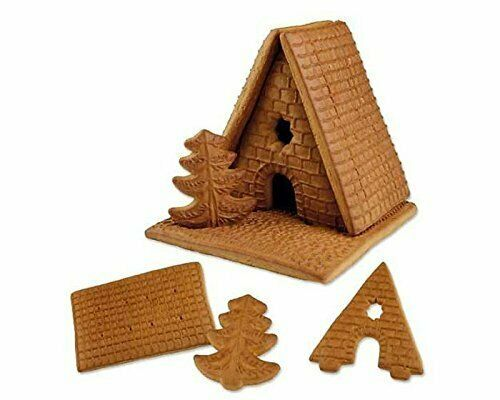 Christmas Bakery Witch House Gingerbread House 6tlg. Kit Gingerbread House