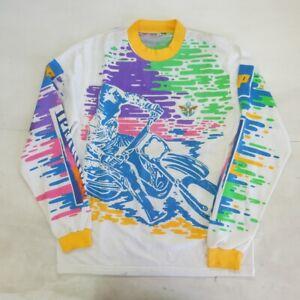 Constructif Ipermoto Fmi Vintage Shirt Polo Maglia Jersey Motocross