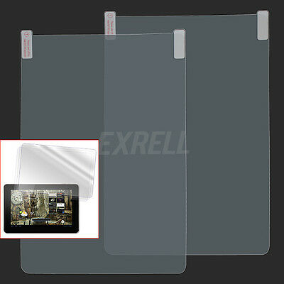 2x For 10.1inches Android Tablet Protective Film Screen Protector High Clear