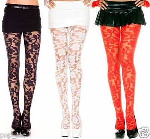 Pantyhose With Designs Woven In
