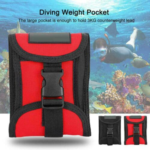 KEEP DIVING Scuba Weight Pocket Diving Weight Pocket with Quick Release Buckle